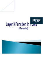 Layer3 Function in TEMS