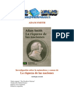 La Riqueza de Las Naciones - Smith Adam
