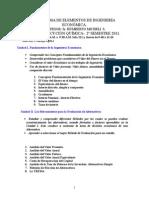 Programa  Ing.econo