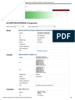 Global Locator _ All NIPPON EXPRESS Companies_Nippon Express