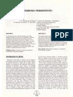 Caso Clinico Persistencia Conducto Arterioso