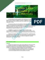 Clima y Regiones Bioclimc3a1ticas Mundo