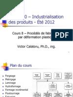 MEC3520 – Cours 08 Été 2012