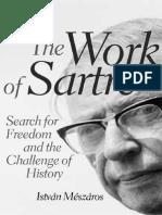 MÉSZÁROS, István. the Work of Sartre