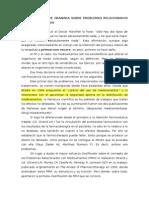 Primer Consenso de Granada Sobre PRM