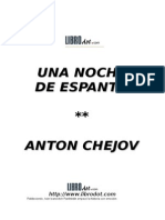 Una Noche de Espanto (Antón Chejov)