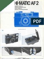 Manual Minolta HI-matic AF2