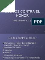Deli to s Contra El Honor