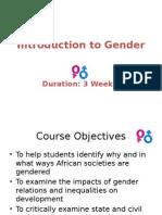 Ugrc 220 Introduction to Gender