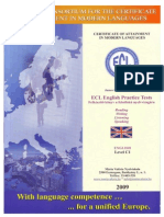 ECL English Practice Tests C1 2009