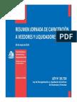 Apunte 4. Presentación en power point ley 20.720.  SIRVE PARA TODO EL SEMESTRE, PARA COMPRENDER LEY..pdf