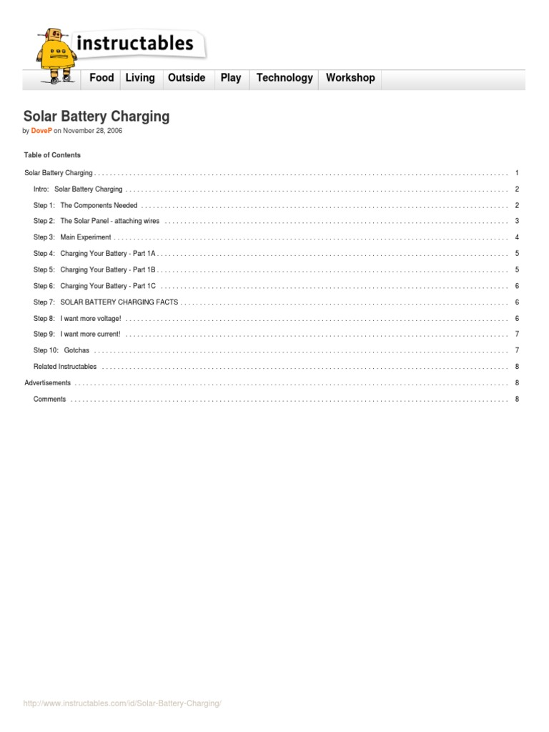 Solar Battery Charging Electricity Charger Circuit Diagram Also 12v 500ma Charge