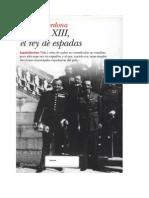 Cardona, Gabriel - Alfonso XIII - El Rey de Espadas