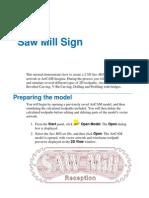 Saw Mill Tutorial