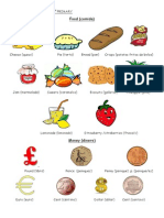 Vocabulary Unit 4 4th Primary (PDF)