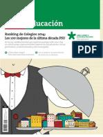 PDF Revista Ranking de Colegios Marzo de 2014
