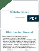 Distribucion Normal Exponencial Binomial