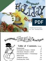 Keepsake Holiday Recipes