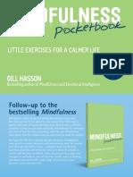 Mindfulness Pocketbook Sample Chapter