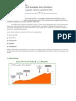 Guía de Aprendizaje Zonas de Chile
