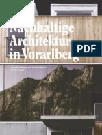 Nachhaltige Architektur in Vorarlberg Energiekonzepte Und Konstruktionen