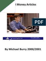 Michael Burry Case Studies