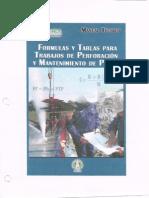 Formulas y Tablas Para Trabajos de Perforación y Mantenimiento de Pozos