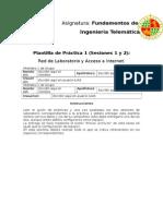 Práctica 1 (F.I. Telemática)