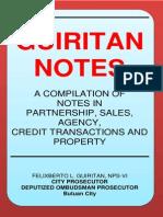 Guiritan Notes Modified