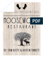 Moosewood Advertising Campaign