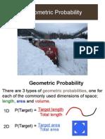 geometric probability proulx