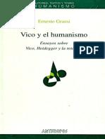 Vico y El Humanismo