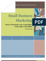 eBOOK SAMPLE- Small Business Marketing - How to dominate your competition both online & offline - HMT & WSB eBook Series