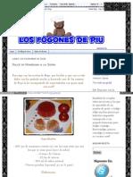 Dulce de Manzana a La Sidra