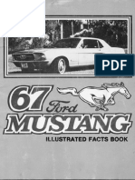 1967 Ford Mustang Illustrated-Facts-Book