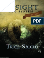 Troll Shield Insight RPG System Adventure