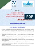 MicroeconomÃ-a - Sesión 1