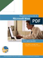 Word 2013, Uso Intermedio