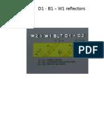 D1 - B1 - W1 Reflectors