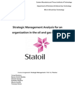 Strategic Analysis_Statoil