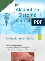 Alcohol en Sistema Digestivo
