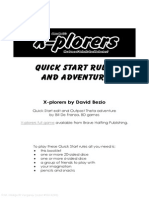 X Plorers QuickStart