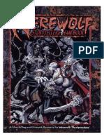Werewolf the Apocalypse Storytellers Handbook 1