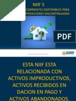 7. NIIF 5 Activos No Corrientes Mantenidos Para La Venta y Operaciones Discontinuas
