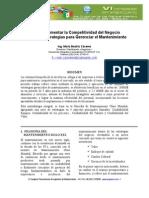 Estrategias Para Gerenciar Mantenimiento - Congreso Panamericano