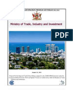 Trade Policy and Strategy for Trinidad and Tobago, 2013-2017