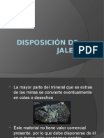 Disposición de Jales