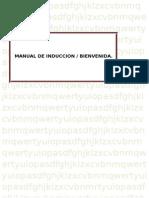 Manual de Inducción/ Bienvenida.....