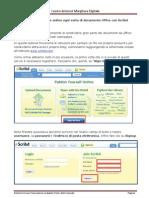 Condividere file con Scribd