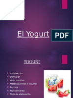 Proceso Del Yogurt